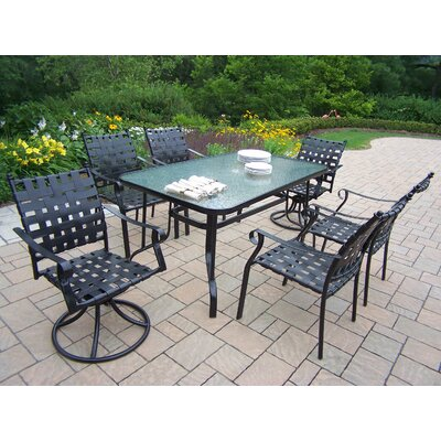 Oakland Living Web 7 Piece Dining Set