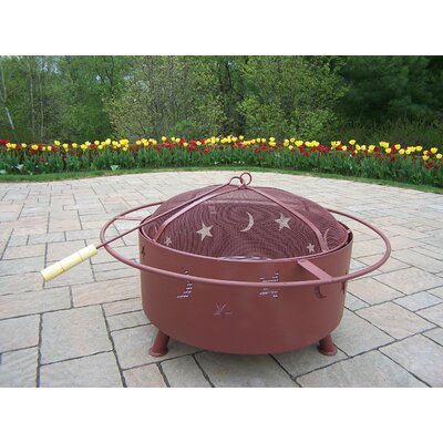 Star and Moon Fire Pit