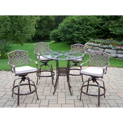 Hummingbird Mississippi Swivel Bar Set with Cushions