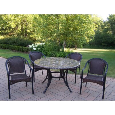 Oakland Living Stone Art Tuscany Dining Set