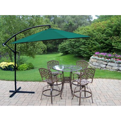 Hummingbird Mississippi Swivel Bar Set with Umbrella