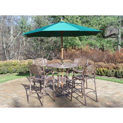 Oakland Living Elite Bar Set with Umbrella