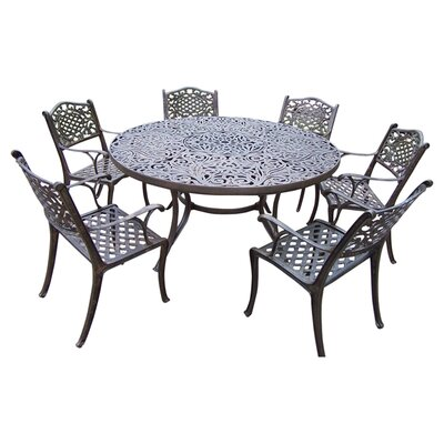 Oakland Living Mississippi 7 Piece Dining Set