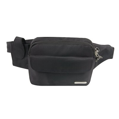 Anti-Theft Waist Pack in Black