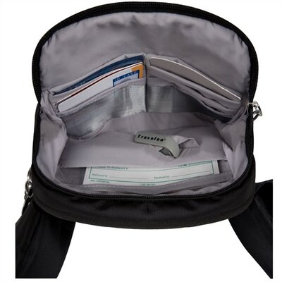 Travelon Anti-Theft Waist Pack in Black