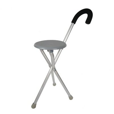 Walking Seat and Cane-In-One