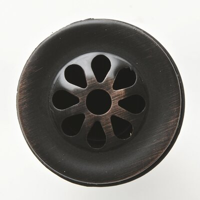 "Premier Copper Products 1.25"" Grid Bathroom Sink Drain"