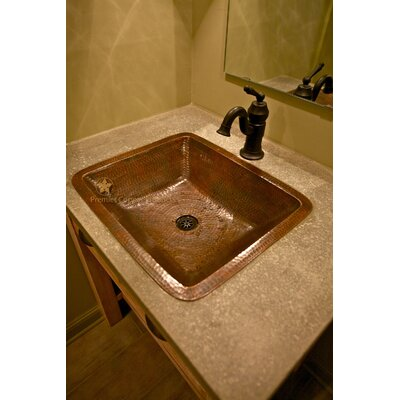 Premier Copper Products Under Counter Bathroom Sink