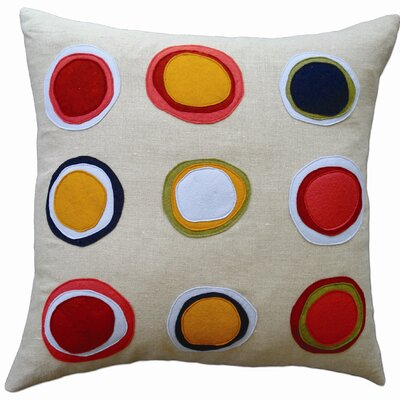 Balanced Design Mona Applique Pillow