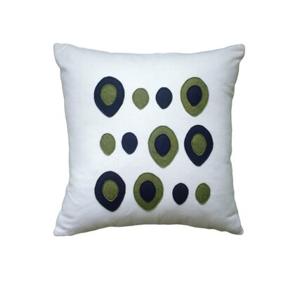 Balanced Design Eggs Applique Pillow