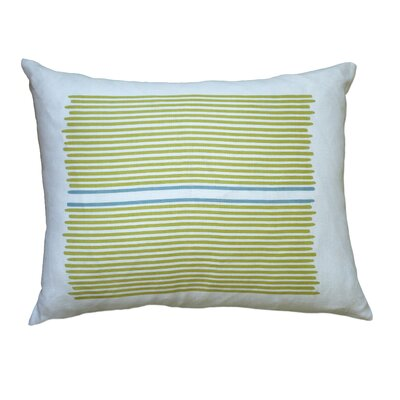 Balanced Design Hand Printed Louis Stripe Pillow