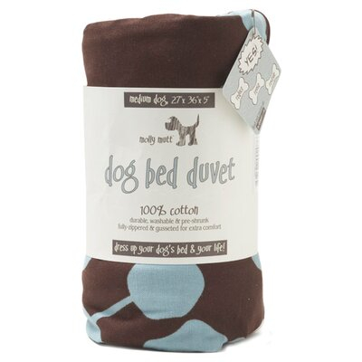 Molly Mutt Your Hand in Mine Gusseted Dog Duvet