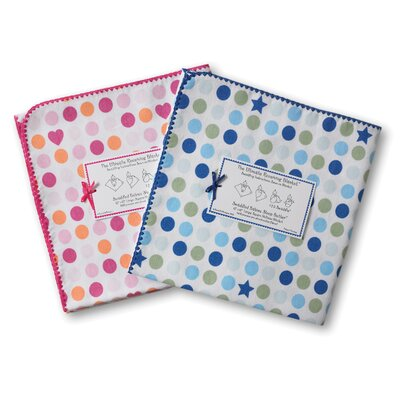 Swaddle Designs Ultimate Receiving Blanket® in Dots and Stars