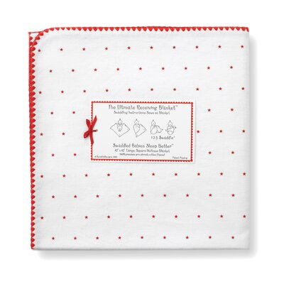 Swaddle Designs Ultimate Receiving Blanket® in Little Hearts