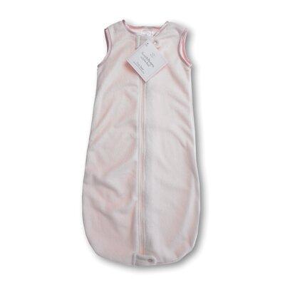 zzZipMe Sack in Pastel Pink Baby Velvet Solid Pastel