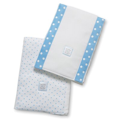 Swaddle Designs Baby Burpies® in Bright Polka Dots