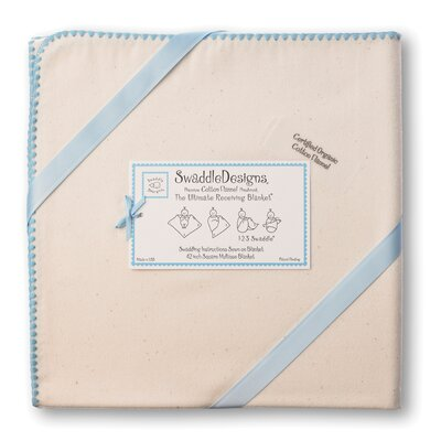 Swaddle Designs Organic Ultimate Receiving Blanket® in Natural