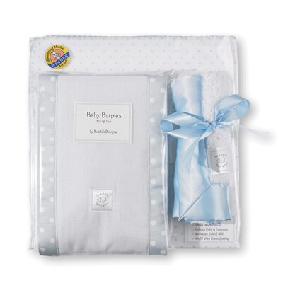 Swaddle Designs 3 Piece Gift Set in Pastel Polka Dots