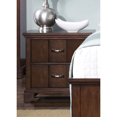 Liberty Furniture Reflections Bedroom 2 Drawer Nightstand