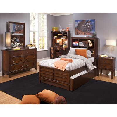 Liberty Furniture Chelsea Square Youth Panel Bookcase Bedroom Collection