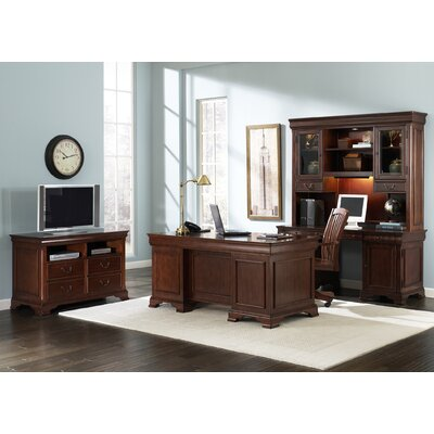 Liberty Furniture Junior Executive Credenza with Optional Hutch