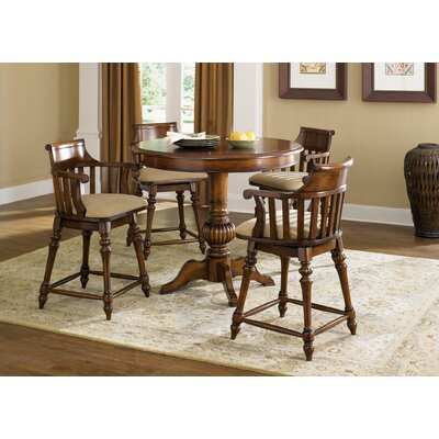 Liberty Furniture Crystal Lakes Round Pub Table  in Toffee