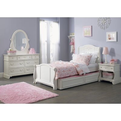 Liberty Furniture Arielle Bed in Antique White