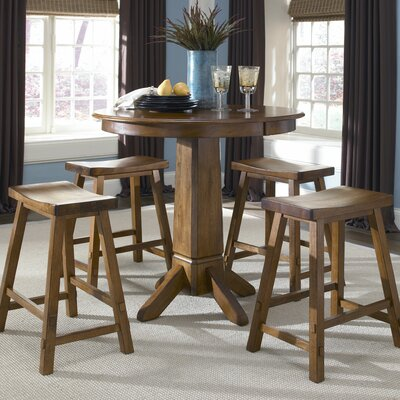 Creations II Casual Dining 5 Piece Counter Height Dining Set