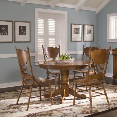 Nostalgia Casual 5 Piece Dining Set