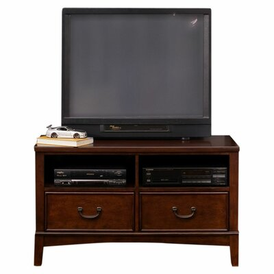 Liberty Furniture Chelsea Square Youth Bedroom Media Chest in Burnished Tobacco