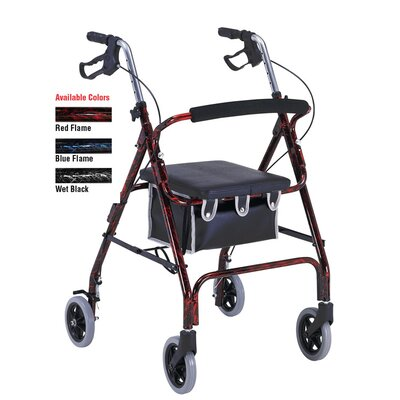 ProBasics Aluminum Rollator with Loop Brakes