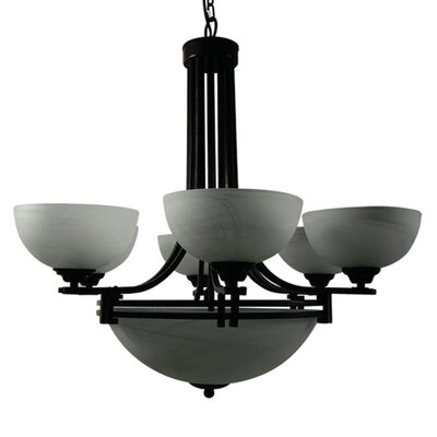 Sequoia 9 Light Chandelier