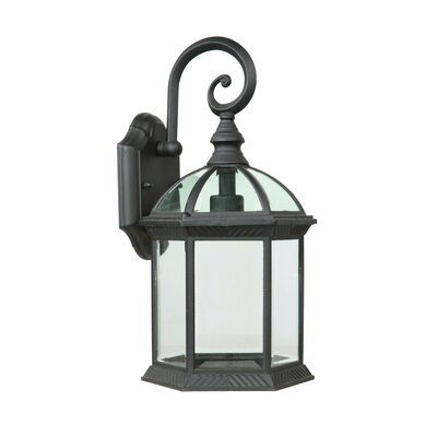Wayfair Outdoor Wall Lights : Yosemite Home Decor Anita 1 Light Outdoor Wall Lantern & Reviews Wayfair