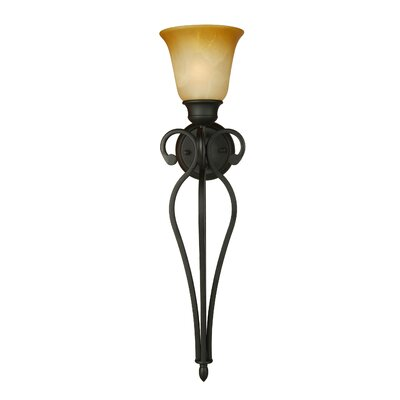 Yosemite Home Decor Royal Arches 1 Light Wall Sconce