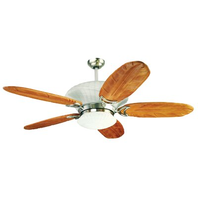 "Yosemite Home Decor 56"" Maui Breezes 5 Blade Ceiling Fan with Remote"