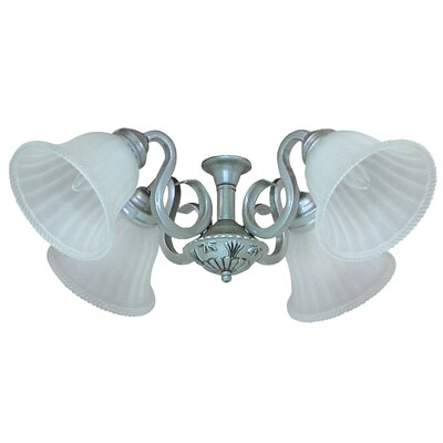 Yosemite Home Decor Queenie  Four Light Ceiling Fan Light Kit