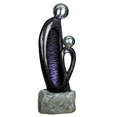 Yosemite Home Decor Two-Headed Fountain