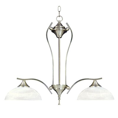 Yosemite Home Decor Glacier Point 2 Light Kitchen Pendant