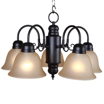 Yosemite Home Decor Manzanita 5 Light Chandelier