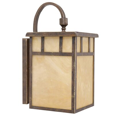 Yosemite Home Decor Tahoe 1 Light Outdoor Wall Lantern