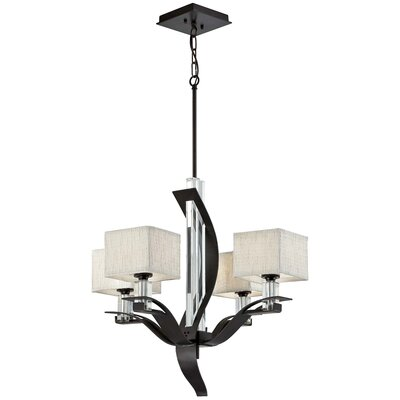 Kalmia 4 Light Chandelier