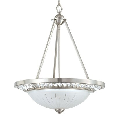 Yosemite Home Decor Cascade 3 Light Foyer Pendant
