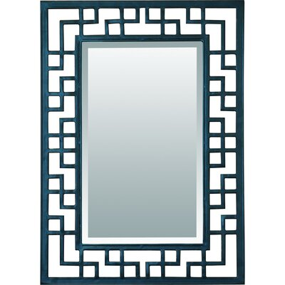 Yosemite Home Decor Iron Beveled Mirror