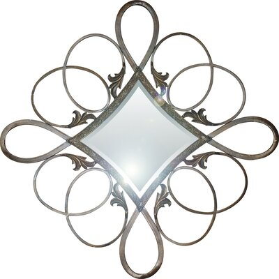 Yosemite Home Decor Iron Diamond Mirror
