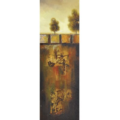 Revealed Art Golden Oak I Original Painting on Canvas