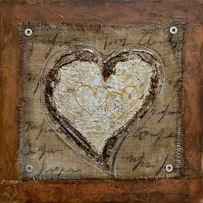 Revealed Art The Healing Heart III Original Painting on Canvas