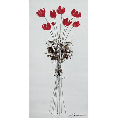 Yosemite Home Decor Tulips Bouquet Canvas Art
