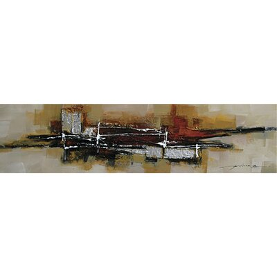 Abstract City Canvas Art Abstract Art Abstract City