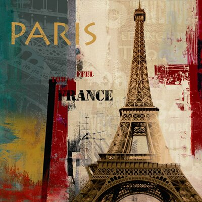 Les Paris Canvas Art