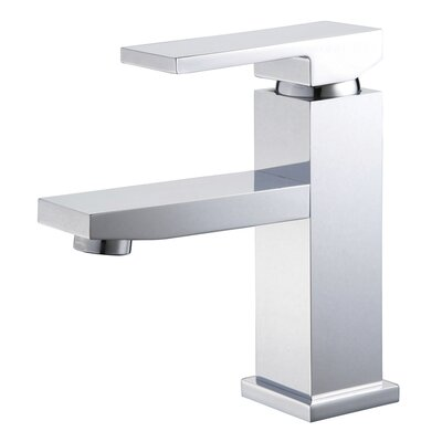 Single Hole Faucet with Single Lever Handle - BN / PC